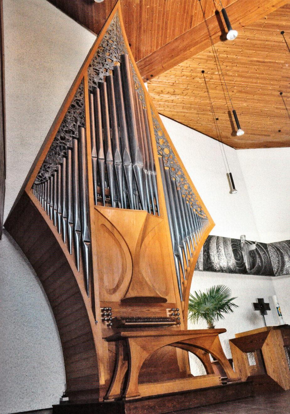 Orgel der Auferstehungskirche Kirchheim