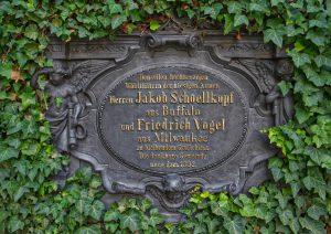 Gedenktafel an der Schöllkopfkapelle Kirchheim