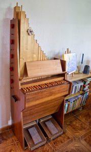 Kleine Tromsdorf Orgel