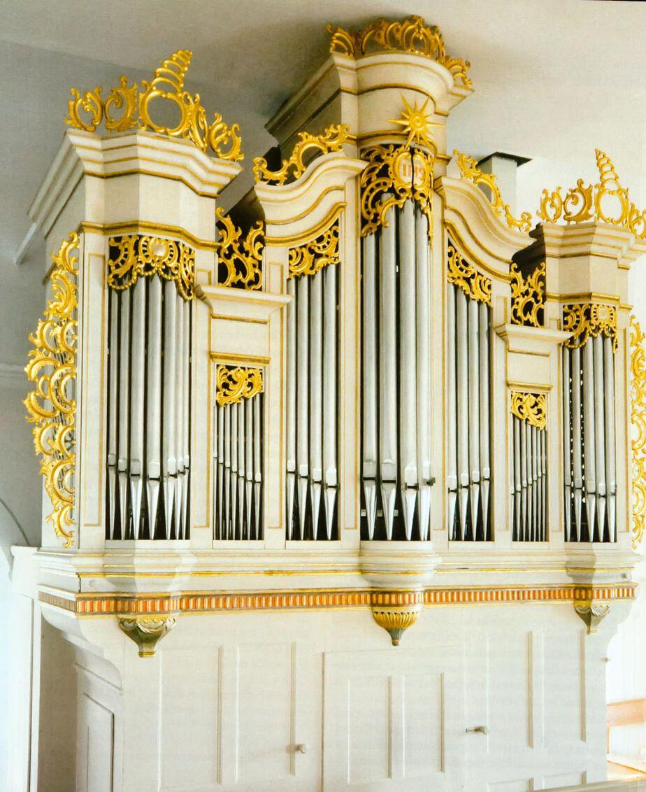 Orgel der Johanneskirche, Schopfloch