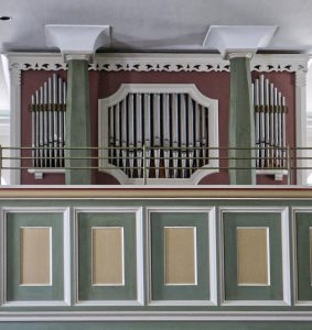 Plum Orgel, Johanneskirche Ötlingen