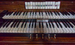 Register der Goll Orgel