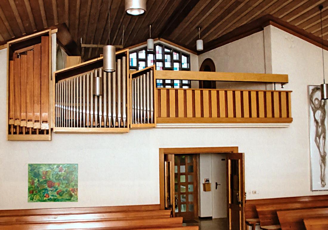 Orgel der Mattäuskirche Lindorf