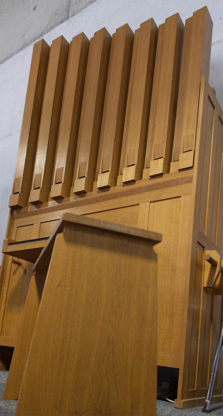 Orgel vom Steingauzentrum Kirchheim