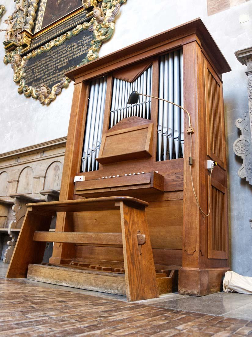 Chorpositiv der Martinskirche Kirchheim