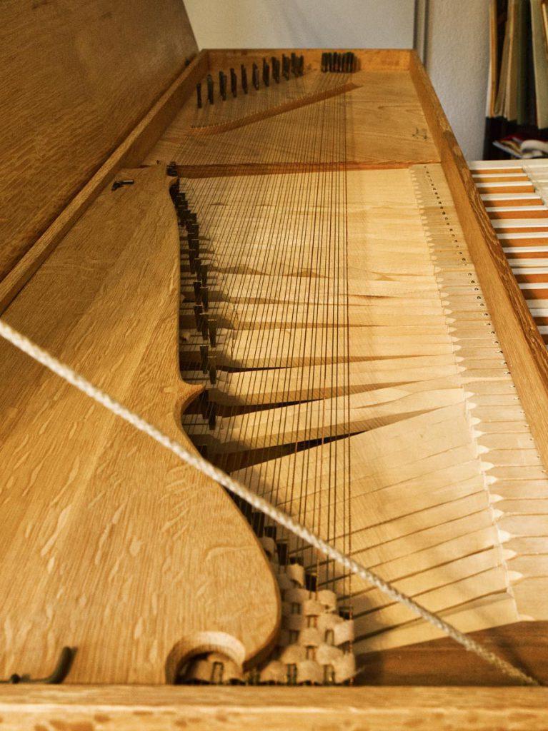 Clavichord nach Praetorius