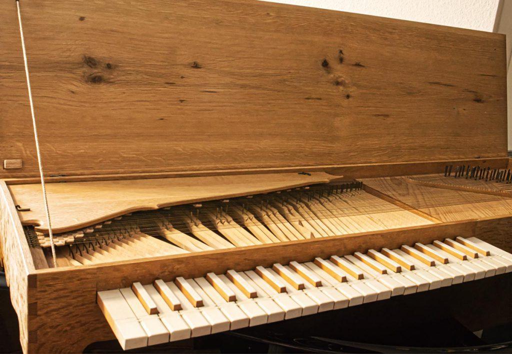 Clavichord von Jurgeson nach Praetorius