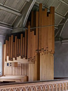 Orgel Johanneskirche Nabern