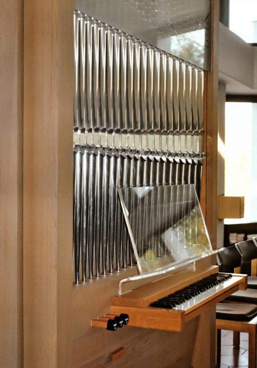 Orgel der Aussegnungshalle Ötlingen