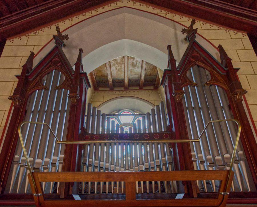 Orgel der Schöllkopfkapelle Kirchheim