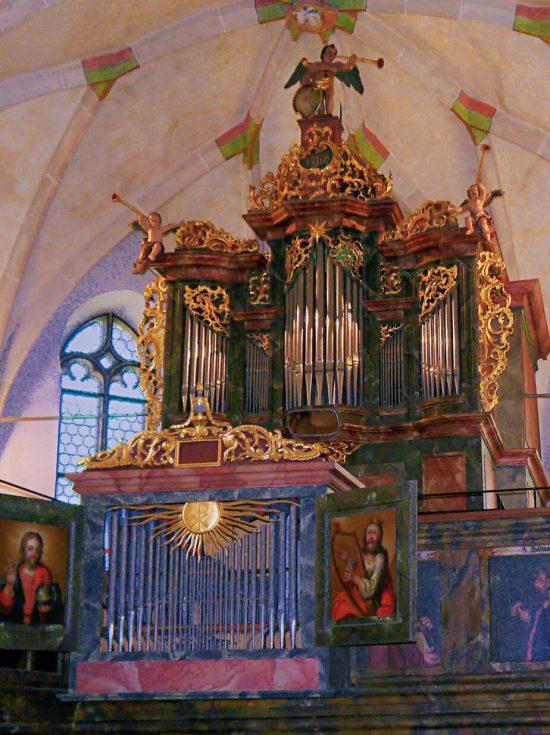 Orgel der Martinskirche, Oberlenningen