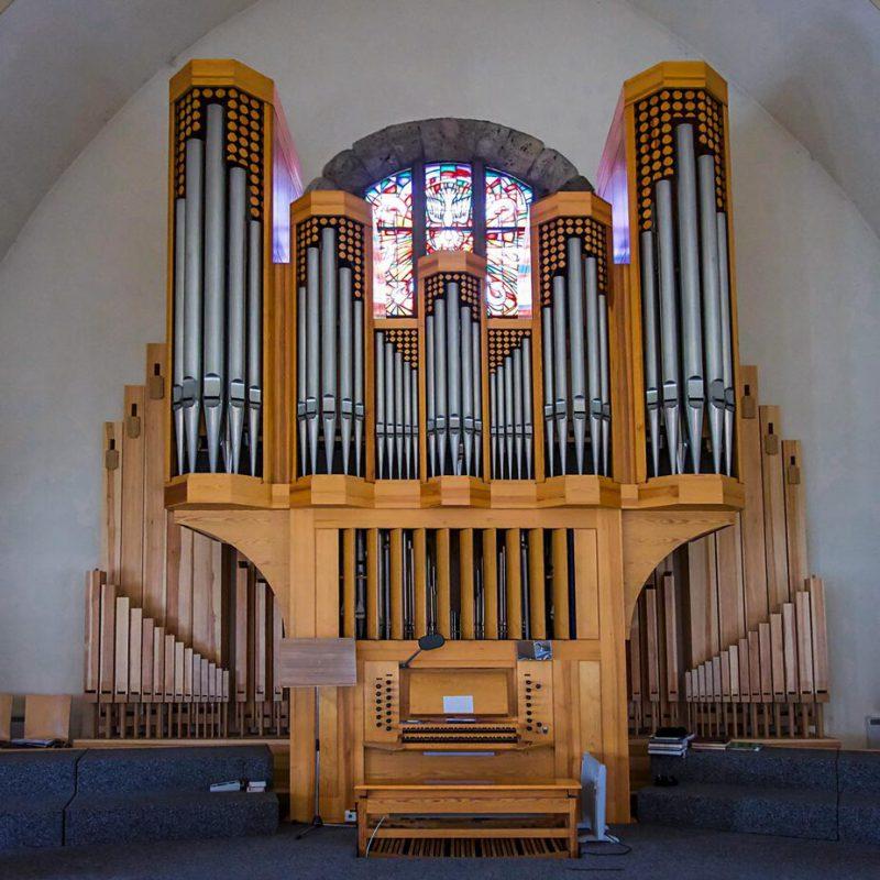 Orgel der Kirche St. Franziskus in Weilheim an der Teck